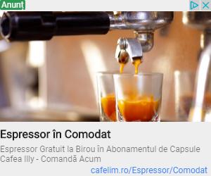 Oferta cafea illy cu espressor GRATUIT la birou.